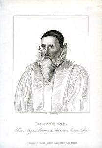 John Dee Engraving Title Page by R Cooper c1800 copyright RCP