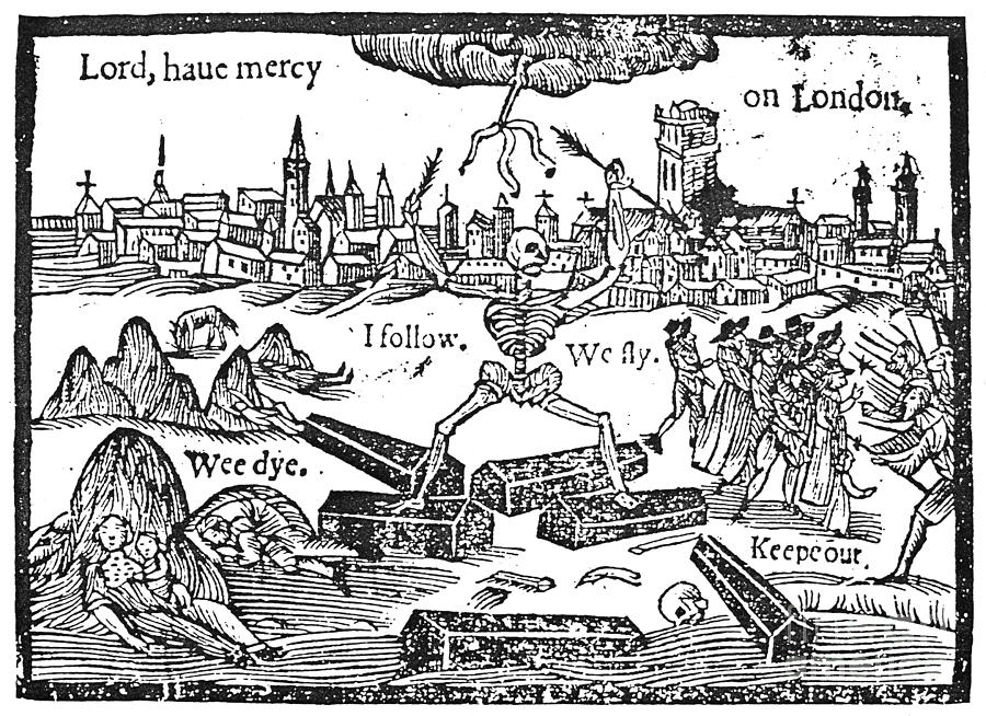 Plague of 1625, printed handsheet