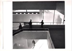 Royal College of Physicians Interior overlooking garden 1964, Courtesy of RIBA