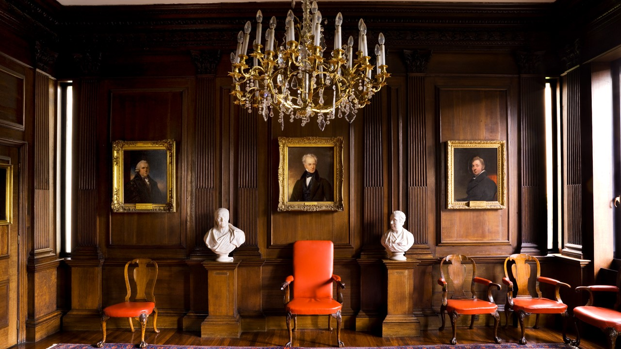 Censor's Room and Portraits at Royal College of Physicians