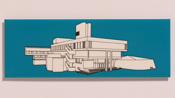 Lasdun Fridge Magnet Cropped