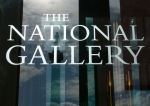 National Gallery Logo window