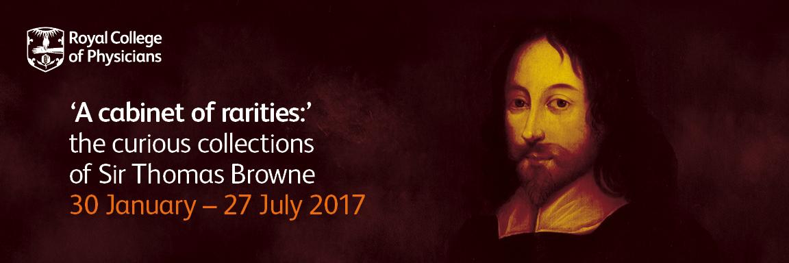 Sir Thomas Browne Exhibition details