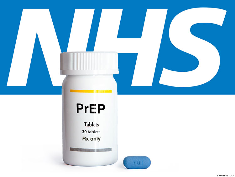 Image of PReP medication with NHS logo