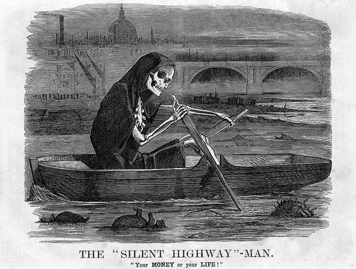The Grim Reaper - Thames