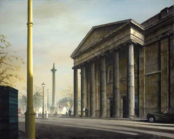Kelly, Felix Runcie, 1914-1994; The Old Building of the Royal College of Physicians, Pall Mall
